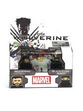 Marvel Minimates Wolverine (Suit) & Black Clan Ninja TRU Exclusive Movie Series