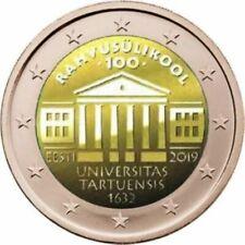 2 Euro Estland 2019 100 Jahrestag Tartu