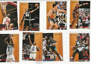 90's INSERTS LOT (8/11) 1993-94 HOOPS SUPREME COURT SHAQ SHAQUILLE O'NEAL ZO