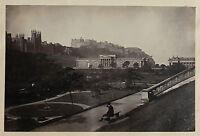 Scozia, Scotland Edinburgo UK, Vintage Albume D'Uovo, Albumina Ca 1880
