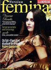 Mag 2007: VANESSA PARADIS