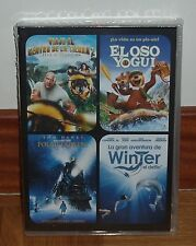COLLECTION 4 DVD - TRAVEL TO CENTRO DE LA TIERRA 2 - WINTER THE DELFIN - SEALED