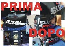 Adesivi motore marino fuoribordo Suzuki 40 - 75 -25 - 30 hp four stroke
