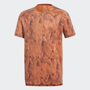 adidas Camo Training Cool Kids Junior Sports Short Sleeve T-Shirt Tee age 7-13