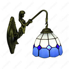Tiffany 5W Mermaid LED Wall Sconce Light Fixture Indoor Lamp Vintage Hotel Cafe