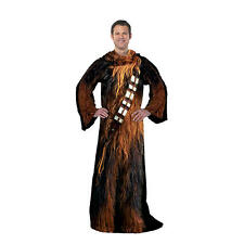 STAR WARS CHEWBACCA Comfy Throw Adult Blanket Comforter Snuggie Snuggy Chewie