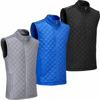STUBURT GOLF MENS ENDURANCE SPORTS THERMAL FULL ZIP WINDPROOF GILET 50% OFF RRP