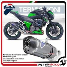 Termignoni RELEVANCE Tubo de Escape carbono racing Kawasaki Z800 2013>2016
