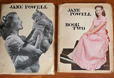 Vtg 40s JANE POWELL MGM Hollywood Actress Scrapbook 155 pgs Album
