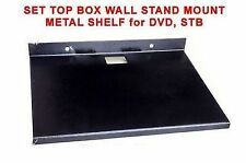 ShEdY Metallic Wall Mount SET TOP BOX STB DVD player STAND TRAY SHELF