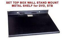 ShEdY Metallic Wall Mount SET TOP BOX STB DVD player STAND TRAY SHELF