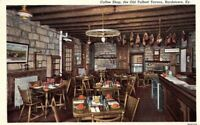 VINTAGE BARDSTOWN, KY. THE OLD TALBOTT TAVERN Coffee Shop  POSTCARD A5-2