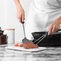 Non-stick Silicone Spatula Stainless Steel Handle Wok Shovel Kitchen Utensils