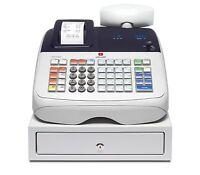 Caja registradora Impresora Hasta 400 PLUs programables y 8 códigos de empleado