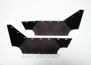 Pro Armor Side Guard Leg Protector Doors BLACK  Yamaha Rhino 450 / 660 / 700