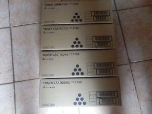 LOT 4 X 431013 Ricoh Fax YPE 1190 Toner cartouche noir Neuf scellé