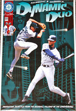 ee1deb72ff Ken Griffey Jr. and Alex Rodriguez DYNAMIC DUO Seattle Mariners 1998 POSTER