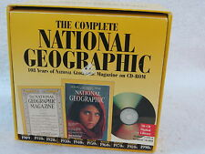 THE COMPLETE NATIONAL GEOGRAPHIC 30 CD-Rom Set 1888-1990s