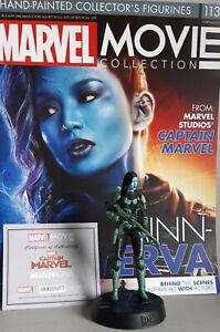 Marvel Movie Collection #113 Minn-Erva Figurine (Captain Marvel) Eaglemoss Engli