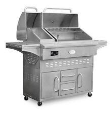 Louisiana Grills Estate 860C Cart Pellet Grill - Stainless Steel