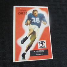 1955 Bowman Football Set Break #8 Alan Ameche Colts