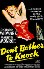 Don't Bother To Knock - 1952 - Movie Poster