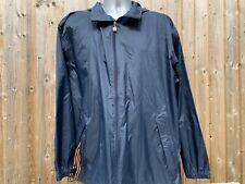Mens Navy Blue K Way Packs Into Pocket Cagoule Rain Jacket Waterproof XL K-Way