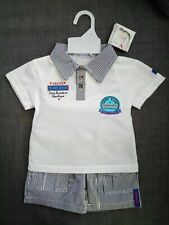 Tom&Kiddy Baby Boy 2 Pieces Set T-shirt And Shorts Size 18 Months