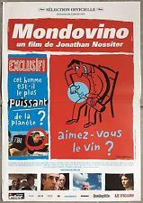 Affiche MONDOVINO Jonathan Nossiter 40x60cm *