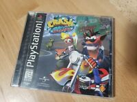 Crash Bandicoot 3: Warped (Sony PlayStation 1 PS1) CIB Black Label