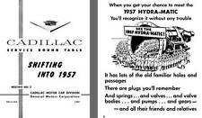 Cadillac 1957 - Cadillac Service Round Table Meeting No. 2 - Shifting into 1957