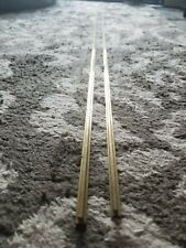 """LGB G-Scale Train Track, x2 59"""" Straight Track Rails (rails only), great cond!"""