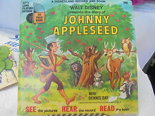 1969 Walt Disney Record & Book 335 Johnny Appleseed