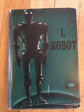 I, Robot ~ by ISAAC ASIMOV ~ Grosset & Dunlap Reprint Edition ~ 1950 Orig DJ 1st