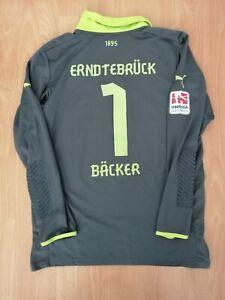 Backer #1 TuS Erndtebrück Spielertrikot XL Match Worn Football Jersey Shirt