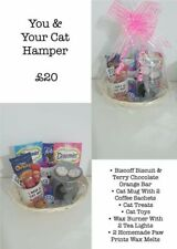 A luxury giftset for you and your cat, a hamper specially designed for you both
