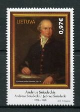 Lithuania 2018 MNH Andrius Sniadeckis 1v Set Art Chemistry Science Stamps