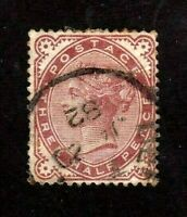 Great Britain stamp #80,used, Queen Victoria, SCV  $50