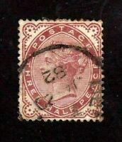 Great Britain stamp #80,used, Queen Victoria, SCV  $50