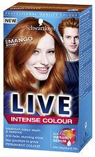 2 X Schwarzkopf Live Intense Colour 030 MANGO TWIST