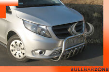MERCEDES VITO 2014+ TUBO PROTEZIONE MEDIUM BULL BAR INOX STAINLESS STEEL