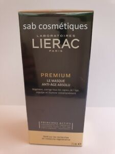 LIERAC Premium Le Masque Anti-âge absolu  75 ml  sous blister