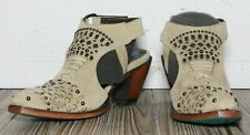 Lane Boots Tribeka Women's Western Cowgirl Booties Size 7.5