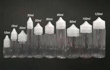 30ml 50ml 60ml 100ml 120ml Pen Shaped Double Childproof Pet Fat Dropper Bottles