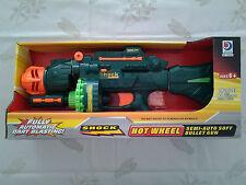 Fusil à munitions en mousse semi-auto Hot Wheel 20 munitions en mousses incluses