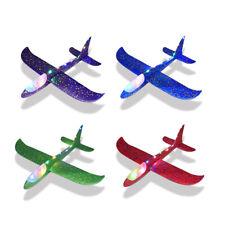 4x Kinder Styroporflugzeug Styroporflieger Wurfgleiter Flieger Flugzeug 48cm