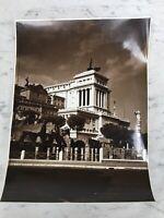 VECCHIA FOTOGRAFIA 50s ALTARE DELLA PATRIA ROMA OLD PHOTOGRAPH