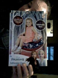 DISNEY FROZEN II INFLATABLE CHAIR  53 X 53 X 35 CM  BIRTHDAY KIDS  SEATING