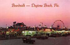 Daytona Beach FL~Midway Fun Fair Night Lights~Forest Amusement Park~Racing Cars