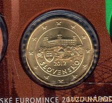 Slovaquie 2012 - 10 Centimes d'Euro 23 000 exemplaires Provenant du coffret BU R